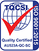 ISO-9001-2015 Certification Mark 523A